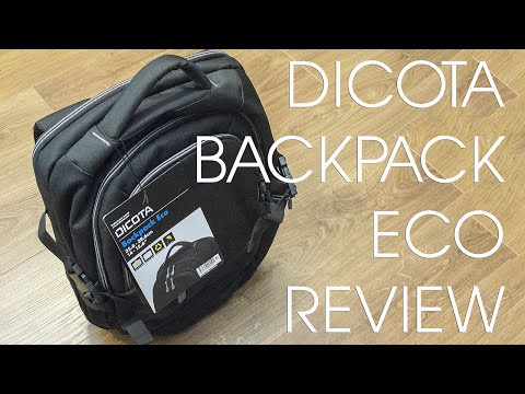 DICOTA BACKPACK ECO REVIEW - BEST BUDGET TECH PACK?