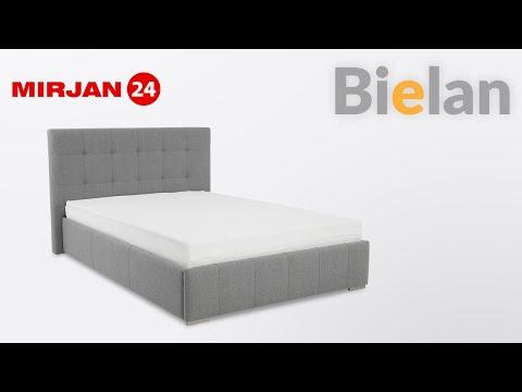 Polsterbett Bielan mit Bettkasten und Lattenrost