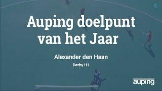 ?AUPING DOELPUNT VAN HET JAAR: ALEXANDER DEN HAAN (DERBY)