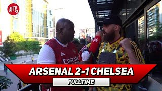 Arsenal 2-1 Chelsea | You Don't Get Trophies For Finishing 4th! (Turkish)