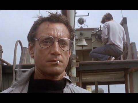 Jaws (1975) - 'Man Against Beast' scene [1080p]