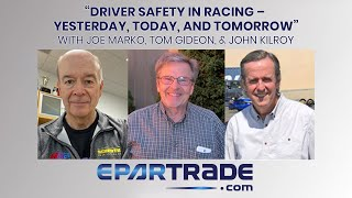 Driver Safety in Racing – Yesterday, Today, and Tomorrow
