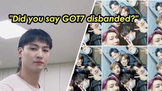 Did GOT7 Disband? JB Answers Fans Burning Questions About GOT7's Future