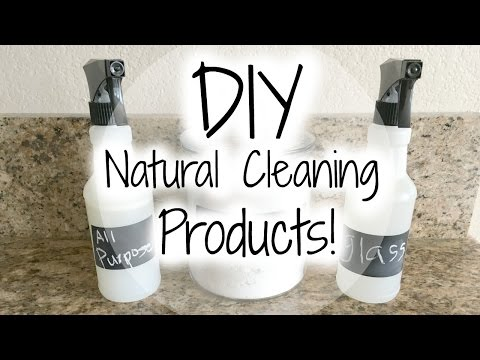 DIY All Natural Cleaning Products
