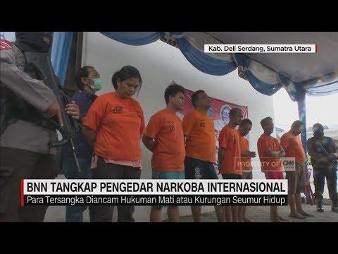 BNN Tangkap Pengedar Narkoba Internasional II CNN ID Update