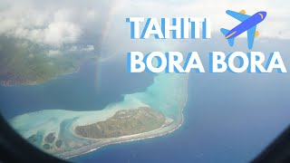 Air Tahiti to Bora Bora Flight | PPT to BOB VT 402