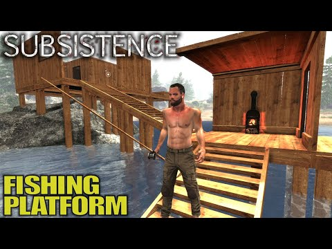 MAJOR Base Expansion Fishing Platform | Subsistence Survival Gameplay | E05