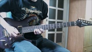 DragonForce - Valley of the Damned (Guitar Cover)