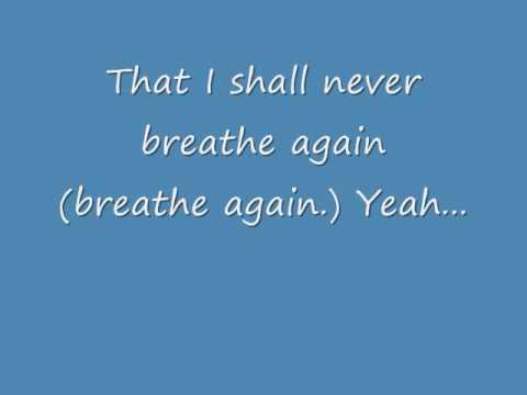 Toni Braxton Breathe Again Chords