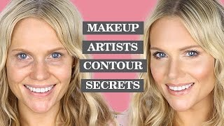CONTOURING SECRETS OF A MAKEUP ARTIST |TUTORIAL
