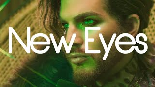 NEW EYES   ADAM LAMBERT (LYRICS)
