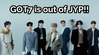[BREAKING] All Of GOT7 Members Officially Leaving JYP Entertainment + Have They Disbanded?