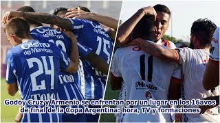 Godoy Cruz Y Armenio Se Enfrentan Por Un Lugar En Los 16avos De Final De La Copa Argentina: Hora,...