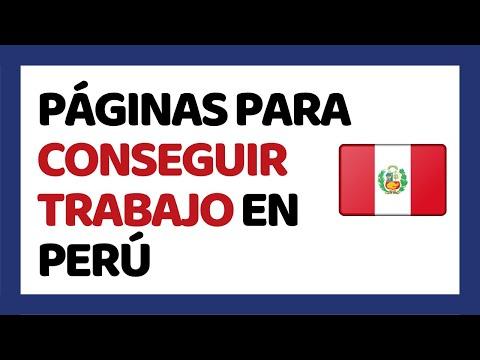 Las 5 Mejores Páginas para Conseguir Trabajo en Perú 2019