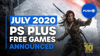 FREE PS PLUS GAMES ANNOUNCED: July 2020 | PS4 | Full PlayStation Plus Lineup