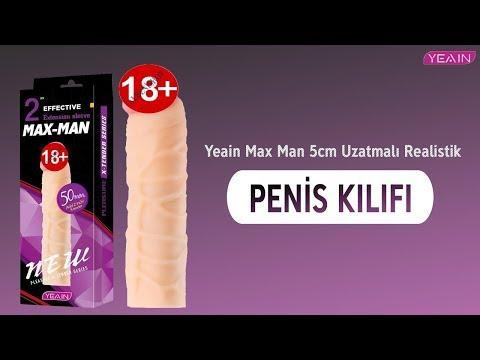 Yeain Max Man 5cm Uzatmalı Realistik Penis Kılıfı-YY913