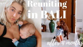 Returning to Bali, reuniting with my boyfriend & dog & saying bye to my sister & nephew *emotional