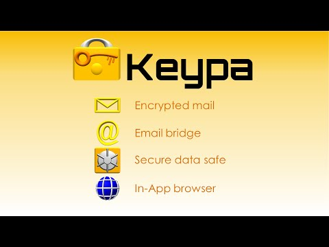 Video of Keypa Data Safe and Messenger