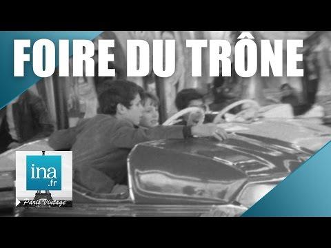 Une journée à la Foire du Trône en 1970   Archive INA