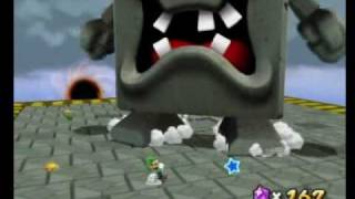 Super Mario Galaxy 2 - Return of the Whomp King Boss (Whomp King)