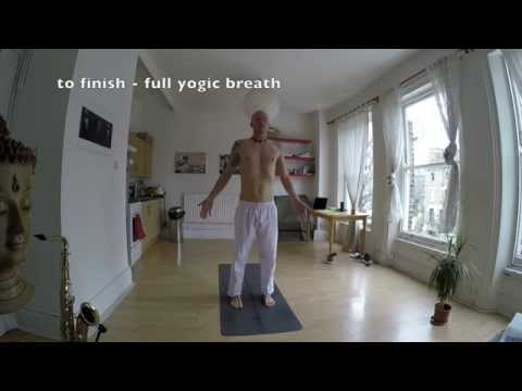 yoga tutorial