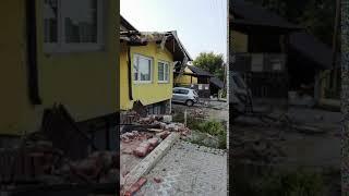 Posledice prometne nesreče v Cezanjevcih