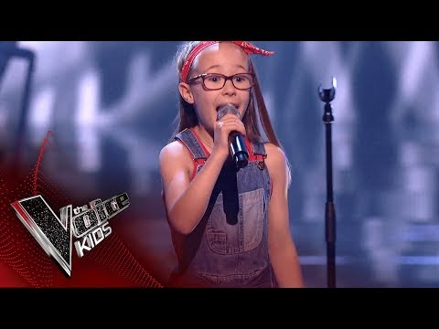 Brooke Performs 'Don't Stop Me Now': Blinds 3 | The Voice Kids UK 2018