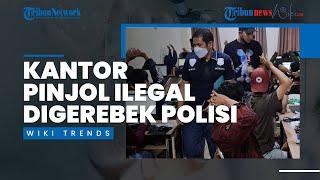 Video Detik-detik Polisi Gerebek Kantor Pinjol Ilegal, Sering Intimidarsi dan Ancam Nasabah