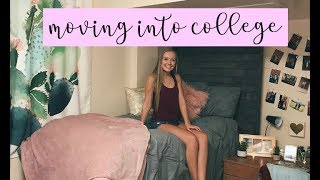 COLLEGE MOVE IN VLOG | Florida State University