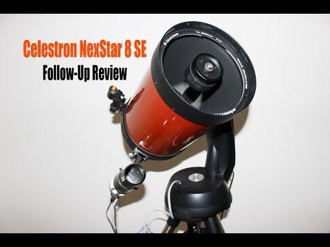 Celestron NexStar 8 SE Follow-Up Review
