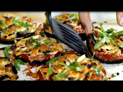 Video Best Mini Eggplant Pizza Recipe