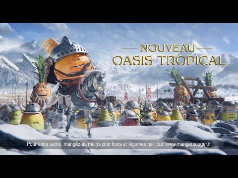 Musique publicité Oasis Assaut Fruité    Juin 2021