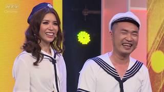 """Minh Tú """"cân"""" hết cả đội Trường Giang - Tiến Luật - Hari Won   7 NỤ CƯỜI XUÂN   7NCX HTV"""