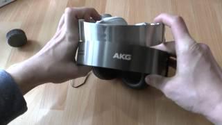 AKG K845 BT Kopfhörer mit Bluetooth im Hands-On