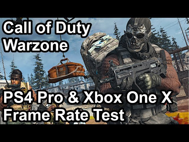 Call Of Duty Warzone Fps Test Shows Ps4 Pro With Better Frames