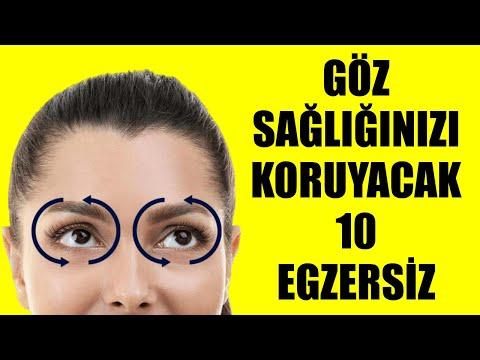 Göz Sağlığınızı Koruyacak On Egzersiz