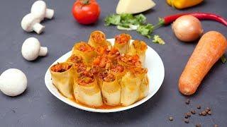 Овощные рулетики - Рецепты от Со Вкусом