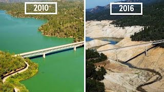 10 Shocking Photos of Earth THEN and NOW founded by NASA | Kholo.pk