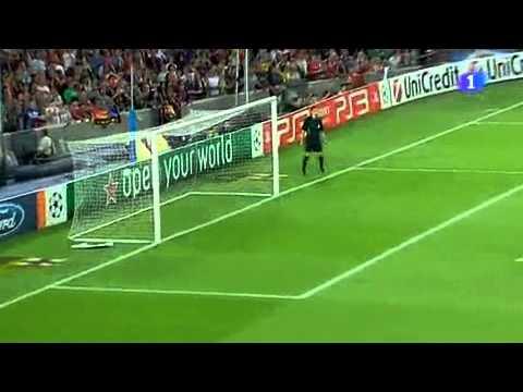Gol do pato contra o Barcelona com 25 segundos de jogo