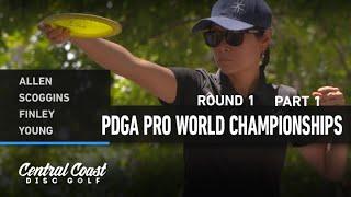2021 World Championships - R1F9 - Allen, Scoggins, Finley, Young
