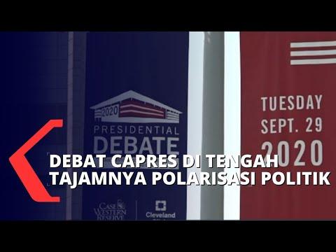 debat pertama jelang pilpres amerika serikat di tengah polarisasi politik