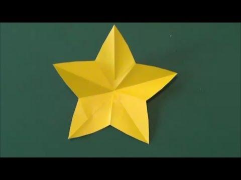 """折り紙】""""星""""の折り方 ..."""