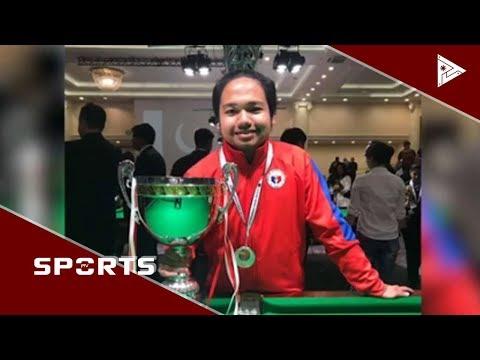 PH medal drought sa snooker, tinuldukan ni Roda