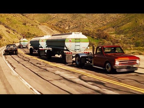 FAST and FURIOUS 4 - Beginning, Gas Scene (Grand National GNX vs Gas Truck) #1080HD