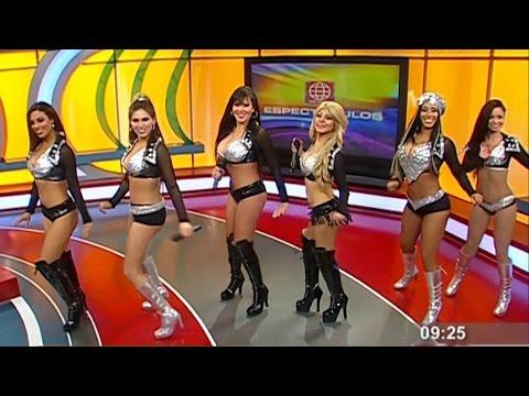 Las muñecas de la tele en america espectaculos 24-09-2014