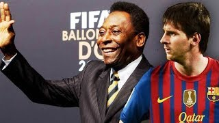 PELE WHO ? ● The Year Lionel Messi Surpassed Pele Already [2012] ||HD||