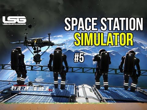 Space Engineers - Orbit - Ep 5 Space Station Simulator 2019