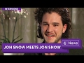 JON SNOW (Game of Thrones) meets JON SNOW.