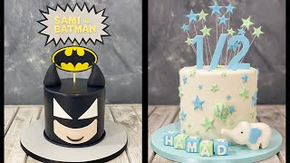 Batman Cake | Half Year Birthday Cake | 6th Month Birthday Cake