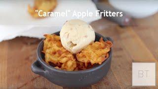 """Caramel"" Apple Fritters"